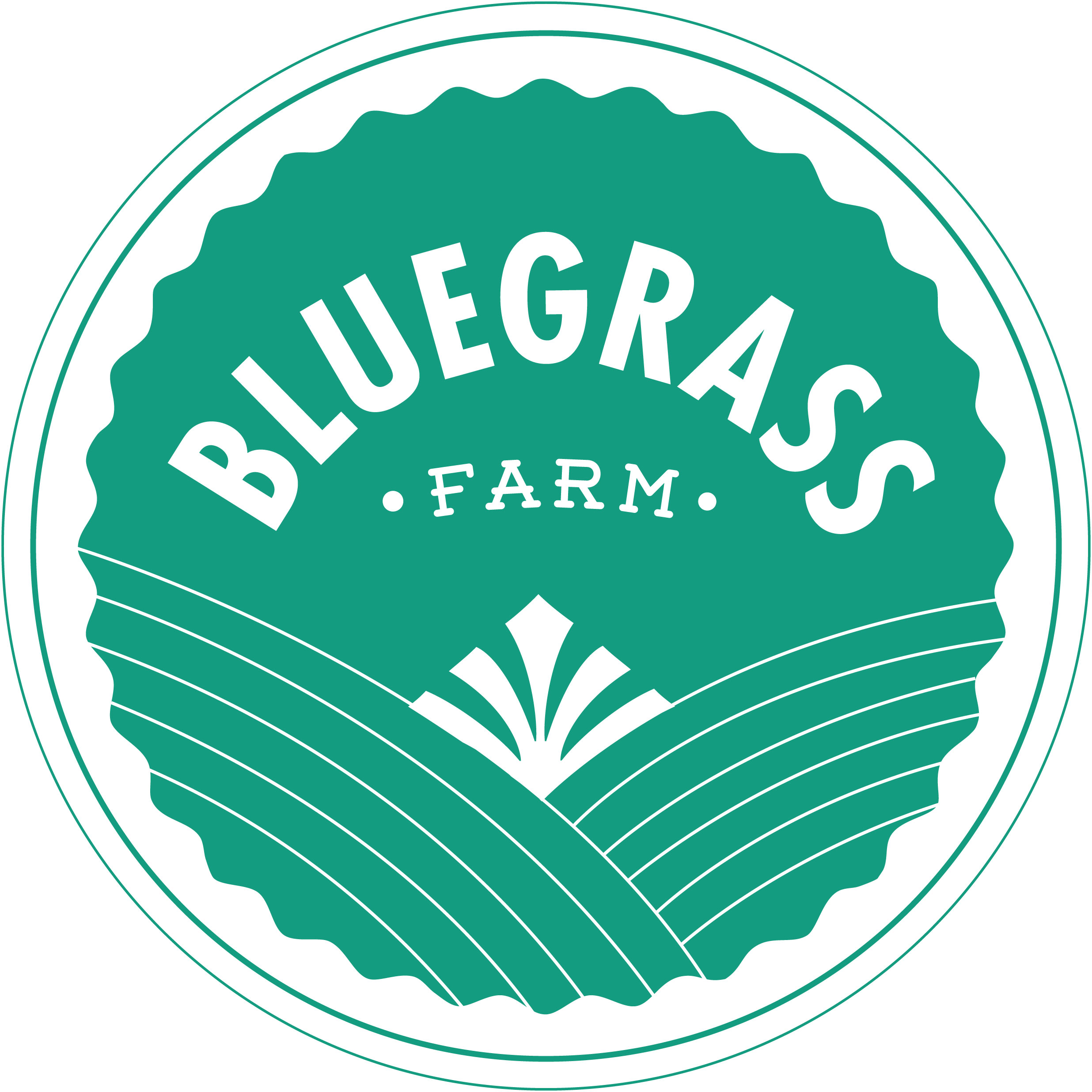 Bluegrass Farm logo